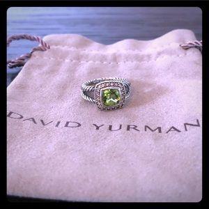 David Yurman peridot ring